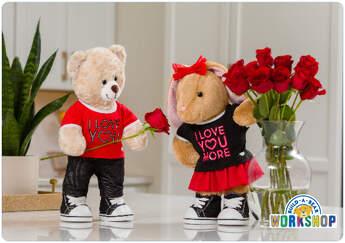 I Love You E-Gift Card - Build-A-Bear Workshop®