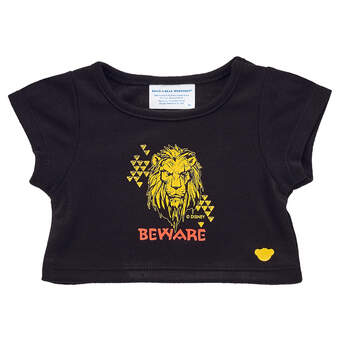 Online Exclusive Disney The Lion King Scar T-Shirt - Build-A-Bear Workshop®