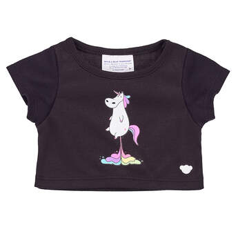 Online Exclusive Unicorn Poop T-Shirt - Build-A-Bear Workshop®