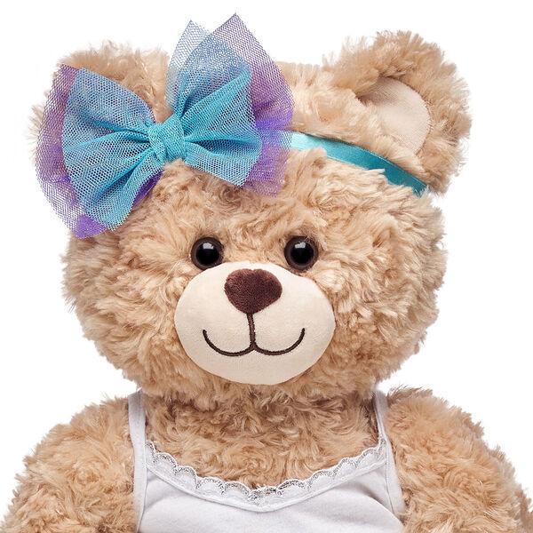 Honey Girls Blue & Purple Bow Headband, , hi-res