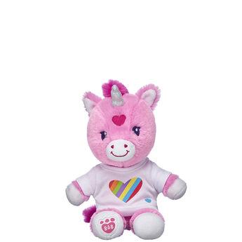 Build-A-Bear Buddies™ Rainbow Heart T-Shirt, , hi-res
