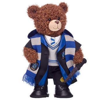 Harry Potter Bear Ravenclaw Gift Set with House Robe, Scarf, Hogwarts Pants & Wand, , hi-res