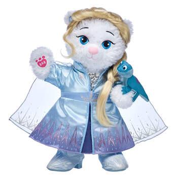 Disney Frozen 2 Elsa Inspired Bear Deluxe Travel Gift Set, , hi-res