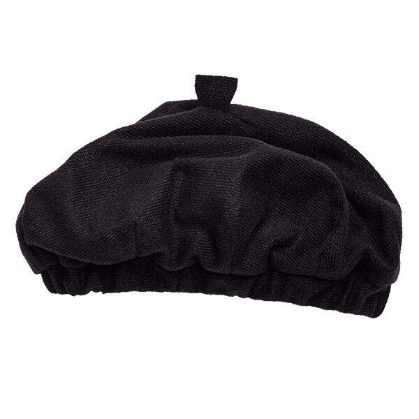 Ooh la la! Your Honey Girl will look like a world traveler in this Black Beret. This black hat is the perfect look for a furry friend who's traveling to Paris.