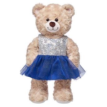 Blue & Silver Christmas Dress, , hi-res