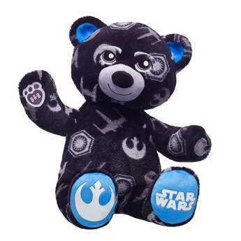 One bear, two sides &mdash you choose! With the Star Wars Dark Side vs. Light Side Bear, you determine which side shows the true nature of this furry friend. Flip the ears and paw pads of Dark Side vs. Light Side Bear to choose from the red First Order side or the blue Rebel Alliance side. Familiar Star Wars icons emblazon the soft fur of this adventurous bear. Add plush lightsabers, accessories and outfits to Dark Side vs. Light Side Bear and relive the action of the movies!© & ™ Lucasfilm Ltd.www.youtube.com/watch