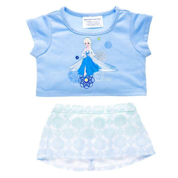 Disney Princess Elsa Skirt Outfit 2 pc., , hi-res