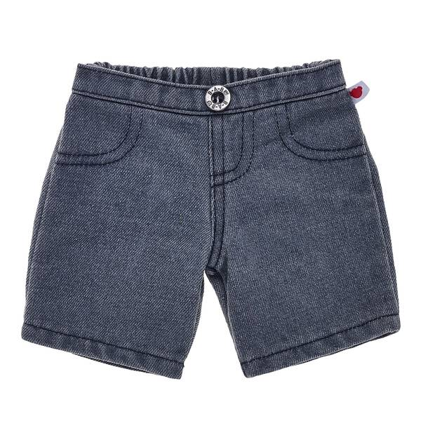For a fashionable denim look that goes great with any outfit, consider these charcoal jeans that are perfectly sized for your furry friend. With a BABW button and a bear emblem tag on the left hip, these charcoal jeans provide the perfect amount of cool for any of your furry friends' looks.