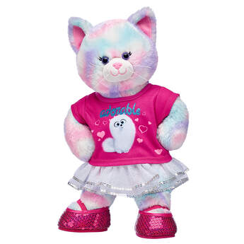 Pastel Swirl Kitty Gidget Gift Set, , hi-res
