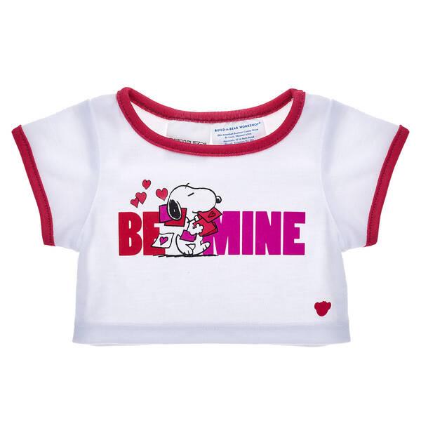 Online Exclusive Peanuts® Valentine's Day T-Shirt - Build-A-Bear Workshop®