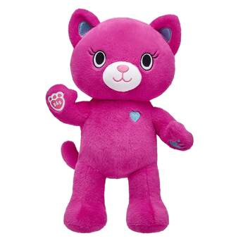 Meet Catlynn! This colorful Kabu kawaii kitten has bright pink fur, blue paw pads and loves all things sports and fitness. Choose cool Kabu outfits.