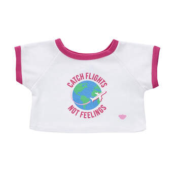 Online Exclusive Flights Not Feelings T-Shirt - Build-A-Bear Workshop®