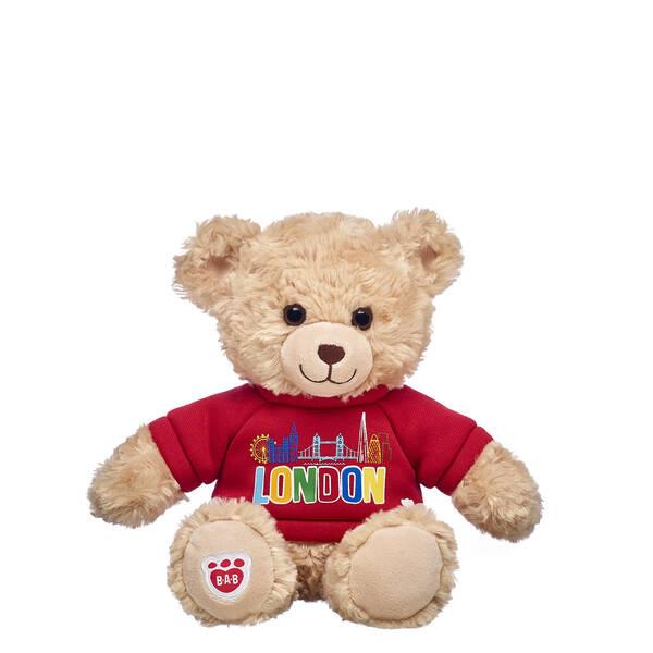 Build-A-Bear Buddies™ Happy Hugs Teddy with London Jumper - Build-A-Bear Workshop®