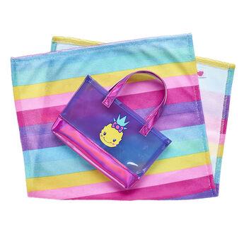 Rainbow Towel & Tote Set 2 pc., , hi-res