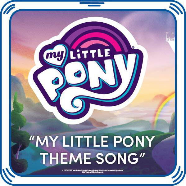 Add the MY LITTLE PONY song to your furry friend and be reminded that friendship is magic every time you squeeze its paw! It's a great way for your furry friend to show off its Pony Pride. MY LITTLE PONY and all related characters are trademarks of Hasbro and are used with permission.© 2016 Hasbro. All Rights Reserved.