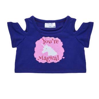 "17e03419f57f70 ""You're Magical"" Unicorn T-Shirt, , hi."
