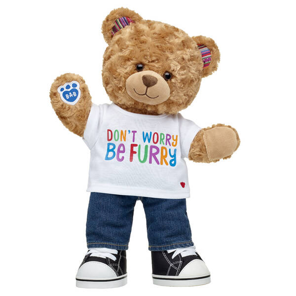 Online Exclusive Worry-Free Bear Blue Jeans Gift Set, , hi-res