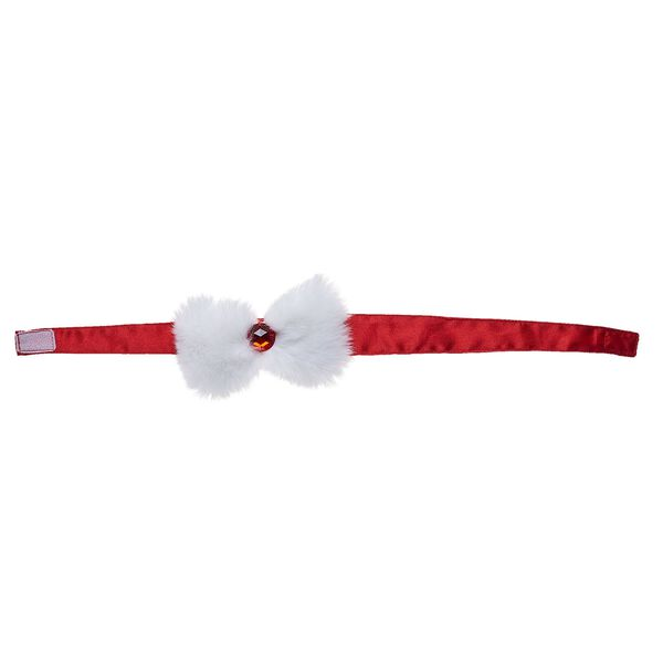 Red and White Christmas Headband, , hi-res