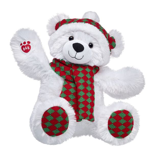 Online Exclusive Wintry Diamond Polar Bear, , hi-res