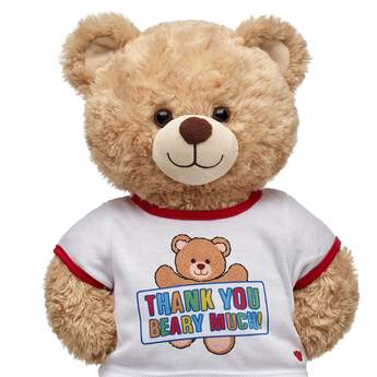 Let someone special know how grateful you are! A furry friend dressed in this cute tee makes for a unique and thoughtful gift. Personlize a furry friend to make the perfect gift. Shop online or visit a store near you!