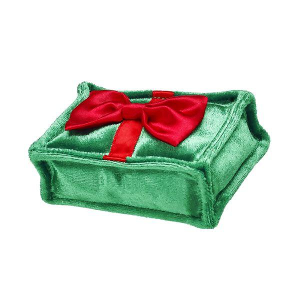 Green Plush Christmas Present, , hi-res