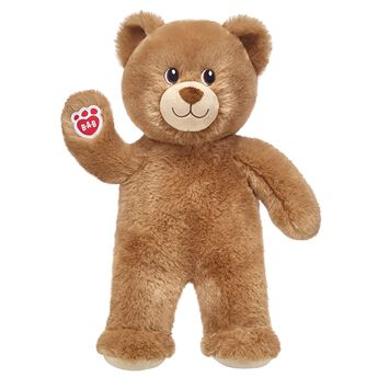 brown teddy bear standing