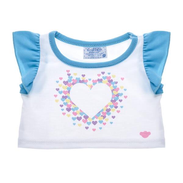 Condo Cubs Heart T-Shirt - Build-A-Bear Workshop®