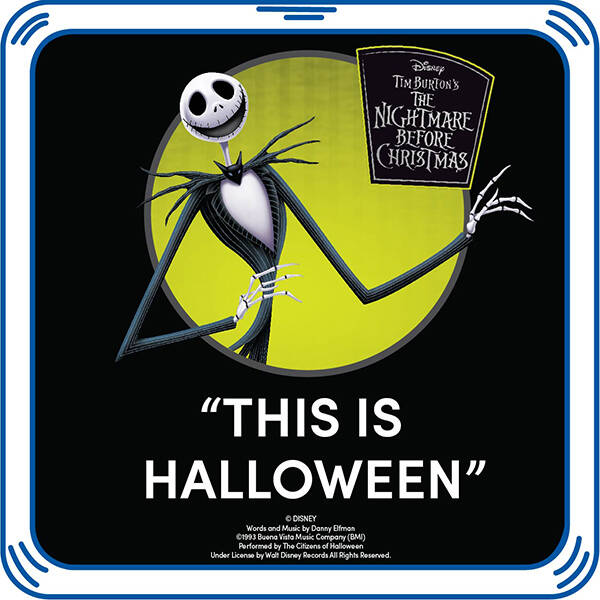 "Disney Tim Burton's The Nightmare Before Christmas ""This Is Halloween"" - Build-A-Bear Workshop®"