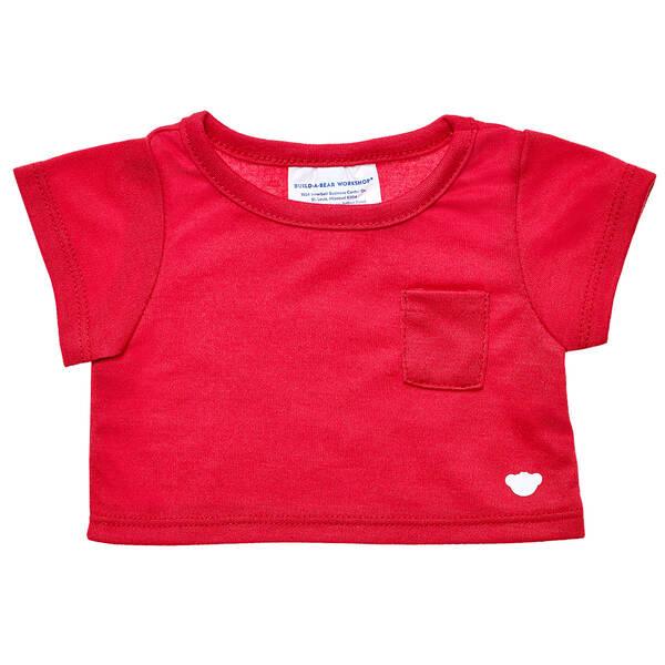 Red Pocket T-Shirt - Build-A-Bear Workshop®