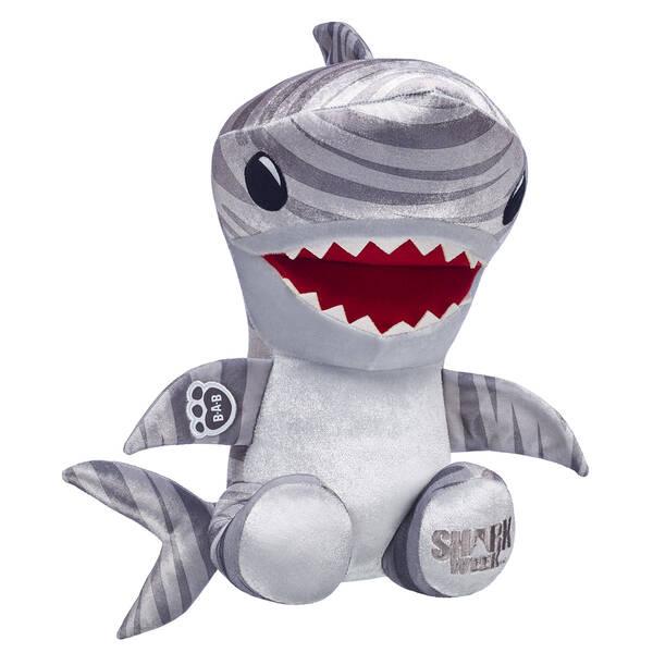 Tiger Shark Plush Toy - Shark Week at Build-A-Bear Workshop®