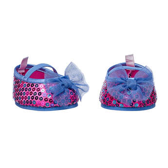 Pink Sequin Bow Flats - Build-A-Bear Workshop®