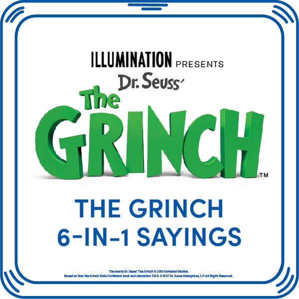 The Grinch 6-in-1 Sayings - Build-A-Bear Workshop®