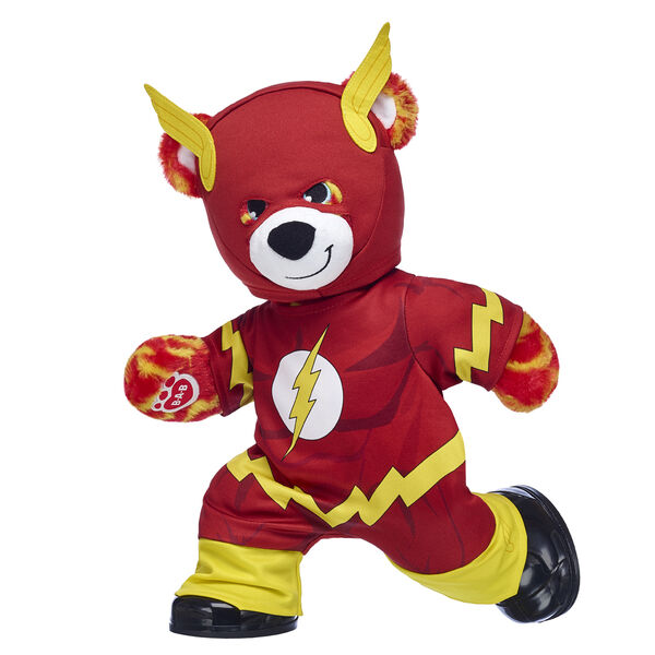 The Flash DC Comics Teddy Bear Gift Set with Costume