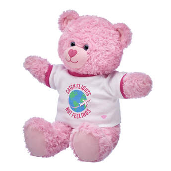 Online Exclusive Pink Cuddles Teddy Flights Not Feelings Gift Set, , hi-res