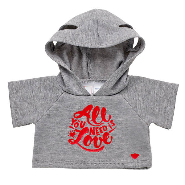 Online Exclusive All You Need Is Love Hoodie - Build-A-Bear Workshop®