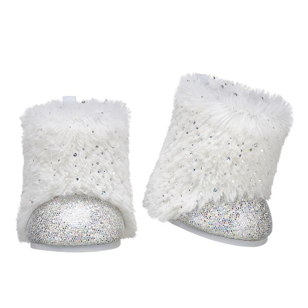 Honey Girls Faux Fur Boots, , hi-res