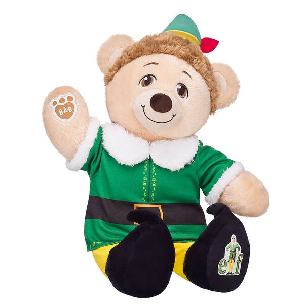 Online Exclusive Buddy the Elf™ Bear - Build-A-Bear Workshop®