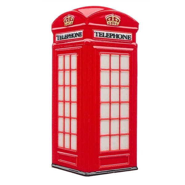 Red Telephone Box Magnet - Build-A-Bear Workshop®