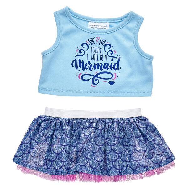 Mermaid Skirt Set 2 pc., , hi-res
