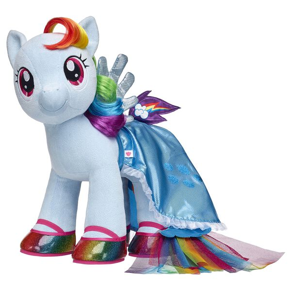 MY LITTLE PONY Rainbow Dash Sparkly Furry Friend Gift Set, , hi-res