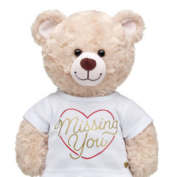 Online Exclusive Missing You T-Shirt - Build-A-Bear Workshop®