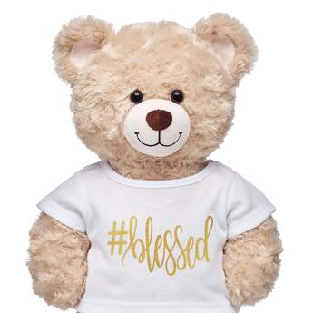 Online Exclusive #Blessed T-Shirt - Build-A-Bear Workshop®