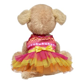 Add a bold 'n' bright look to your Promise Pets furry friend! This stuffed animal dress is perfect for four-legged furry friends. Personlize a furry friend to make the perfect gift. Shop online or visit a store near you!