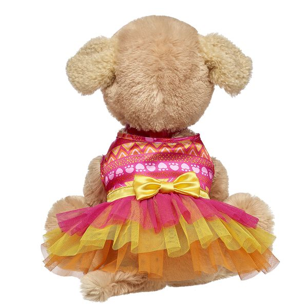 Promise Pets™ Hot Pink Paw Print Dress, , hi-res