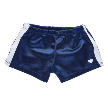 Navy Blue Athletic Shorts - Build-A-Bear Workshop®