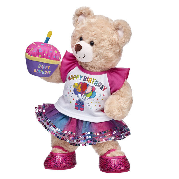 QuotCeleBEARate The Birthday Girl With This Adorable Five Piece Gift Set