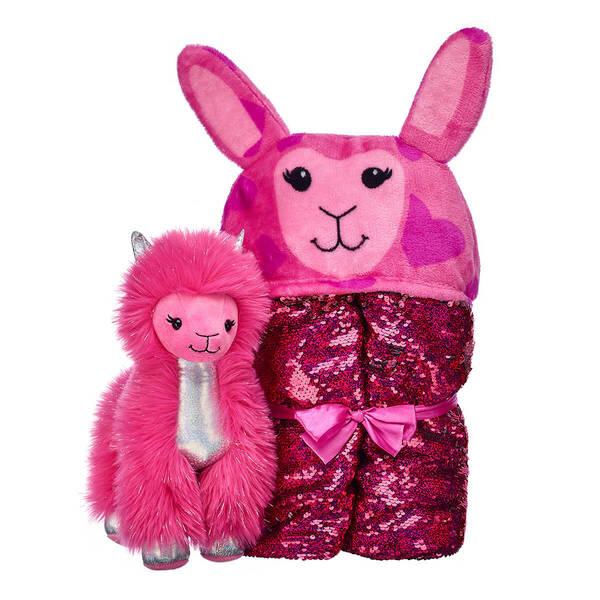 Shear Sparkle Llama & Big Hugs Blanket Set, , hi-res