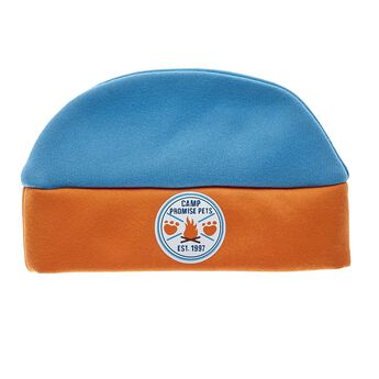 Keep your Promise Pets furry friend warm when they're outside! This soft beanie is blue and orange with the Camp Promise Pets logo in the center. Personalise a furry friend to make the perfect gift. Shop online or visit a store near you!