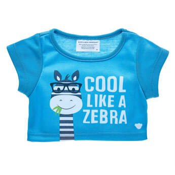Cool Like a Zebra T-Shirt - Build-A-Bear Workshop®