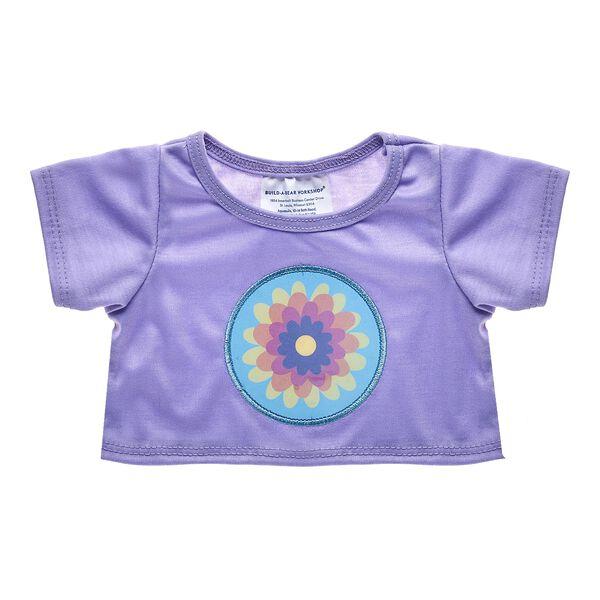 Purple Flower T-Shirt, , hi-res